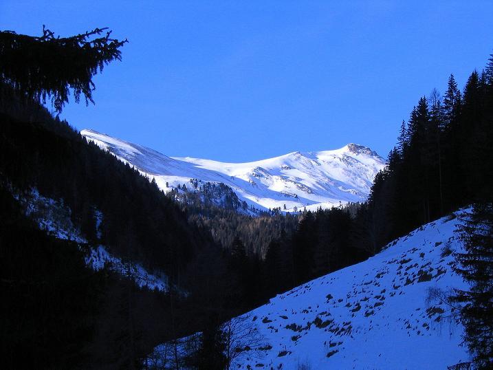 Foto: Andreas Koller / Ski Tour / Aus dem Scharnitzgraben auf den Großhansl (2315m) / 24.12.2008 01:06:46
