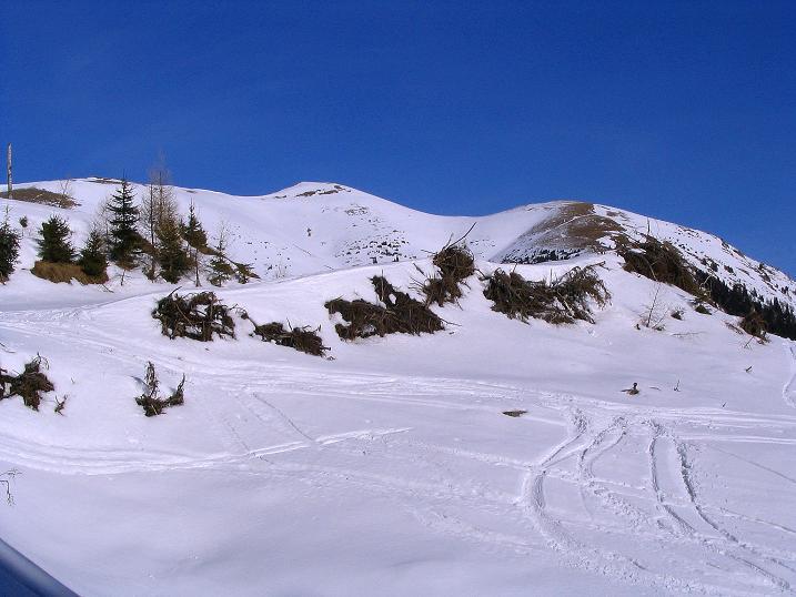 Foto: Andreas Koller / Ski Tour / Aus dem Scharnitzgraben auf den Großhansl (2315m) / 24.12.2008 01:07:33