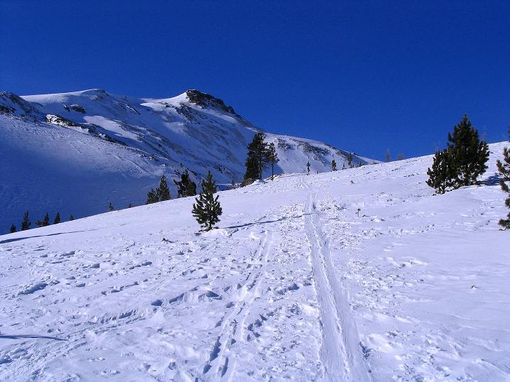 Foto: Andreas Koller / Ski Tour / Aus dem Scharnitzgraben auf den Großhansl (2315m) / 24.12.2008 01:06:29