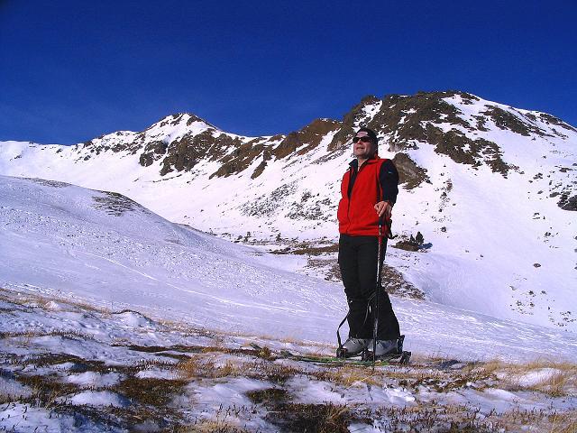 Foto: Andreas Koller / Ski Tour / Aus dem Scharnitzgraben auf den Großhansl (2315m) / Im Weittal mit Kleinhansl (2217 m) / 29.12.2007 16:54:01