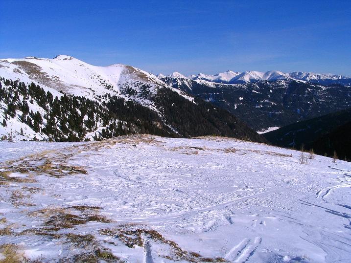 Foto: Andreas Koller / Ski Tour / Aus dem Scharnitzgraben auf den Großhansl (2315m) / 24.12.2008 01:06:22