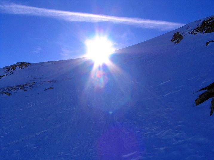 Foto: Andreas Koller / Ski Tour / Aus dem Scharnitzgraben auf den Großhansl (2315m) / 24.12.2008 01:05:58
