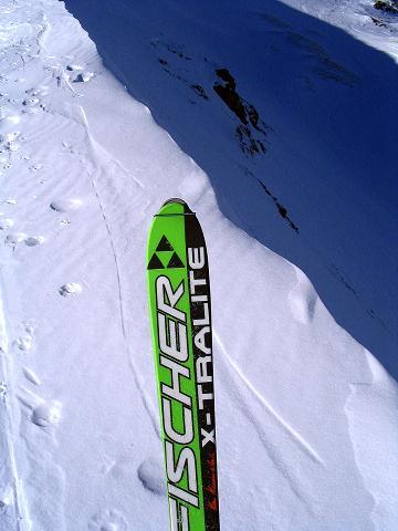 Foto: Andreas Koller / Ski Tour / Aus dem Scharnitzgraben auf den Großhansl (2315m) / 24.12.2008 01:05:52