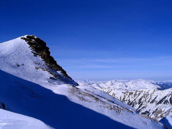 Foto: Andreas Koller / Ski Tour / Aus dem Scharnitzgraben auf den Großhansl (2315m) / 24.12.2008 01:05:46