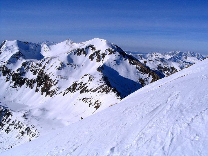 Foto: Andreas Koller / Ski Tour / Aus dem Scharnitzgraben auf den Großhansl (2315m) / 24.12.2008 01:05:34