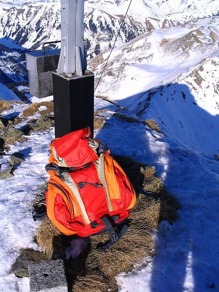Foto: Andreas Koller / Ski Tour / Aus dem Scharnitzgraben auf den Großhansl (2315m) / 24.12.2008 01:05:18