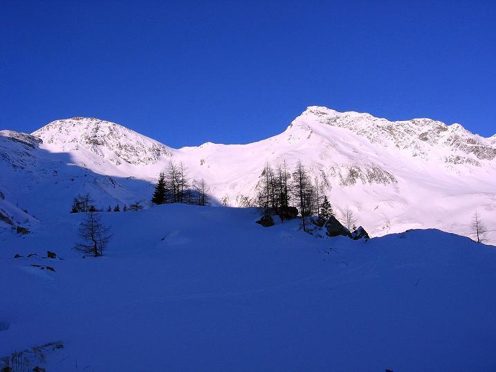 Foto: Andreas Koller / Ski Tour / Hagener Hütte und Greilkopf (2581m) / Feldseekopf (2864 m) und Vorderer Gesselkopf (2974 m) / 03.01.2008 18:01:35