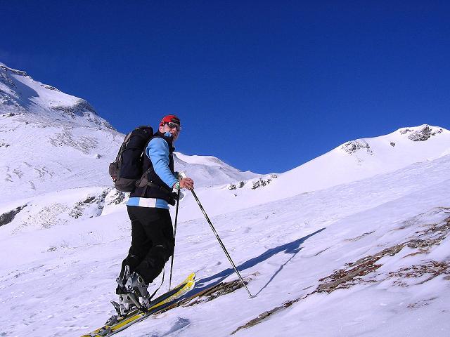 Foto: Andreas Koller / Ski Tour / Hagener Hütte und Greilkopf (2581m) / Aufstieg zur Hagener Hütte / 03.01.2008 17:55:31