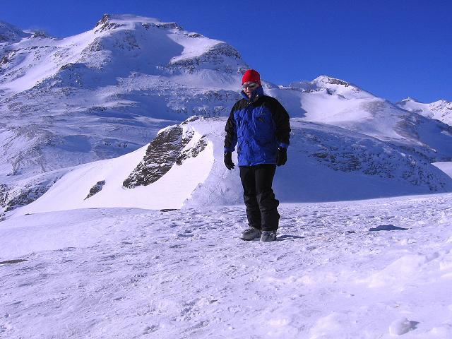 Foto: Andreas Koller / Ski Tour / Hagener Hütte und Greilkopf (2581m) / Eisiger Wind bei der Hagener Hütte / 03.01.2008 17:54:52