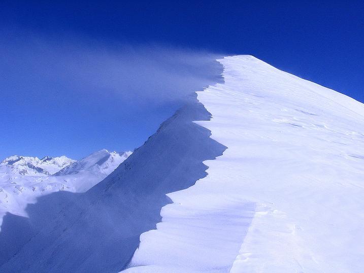 Foto: Andreas Koller / Ski Tour / Hagener Hütte und Greilkopf (2581m) / W-Grat auf den Greilkopf / 03.01.2008 17:52:16