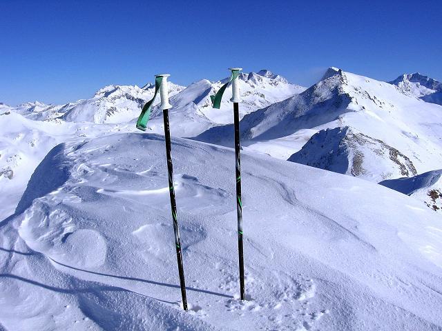 Foto: Andreas Koller / Ski Tour / Hagener Hütte und Greilkopf (2581m) / Der Greilkopf-Gipfel / 03.01.2008 17:51:56