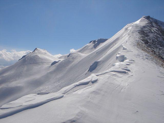 Foto: Manfred Karl / Ski Tour / Über den Frauenkogel zur Badgasteiner Hütte / Wechtengrat zum Gamskarkogel / 10.01.2008 21:31:10