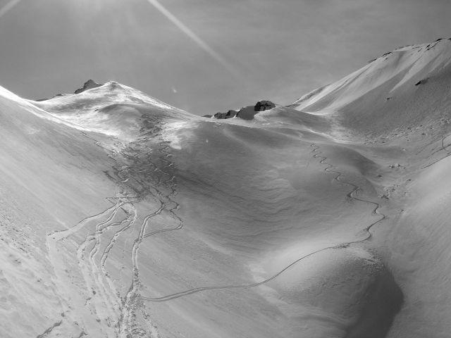 Foto: Manfred Karl / Ski Tour / Über den Frauenkogel zur Badgasteiner Hütte / 10.01.2008 21:15:48