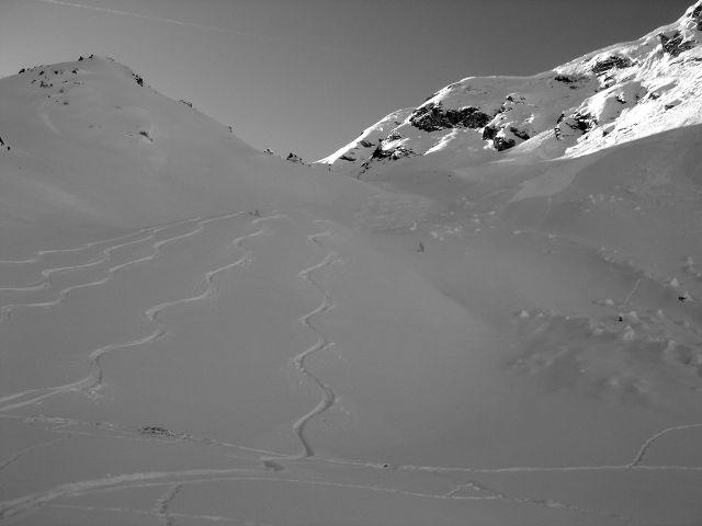 Foto: Manfred Karl / Ski Tour / Über den Frauenkogel zur Badgasteiner Hütte / Bei sicheren Verhältnissen ein Genuss. / 10.01.2008 20:56:11