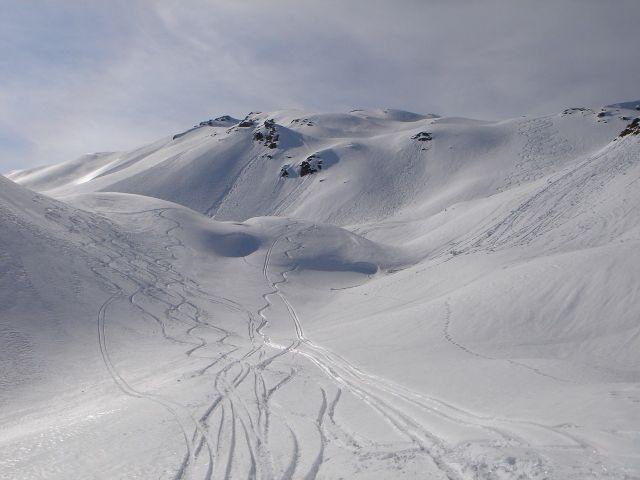 Foto: Manfred Karl / Ski Tour / Über den Frauenkogel zur Badgasteiner Hütte / 10.01.2008 21:13:41