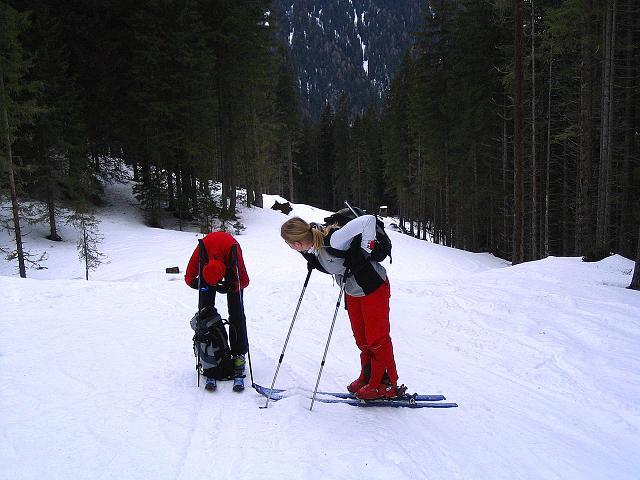 Foto: Andreas Koller / Ski Tour / Zwei Gipfel aus dem Gullinggraben (2196 m) / 24.12.2008 12:57:16