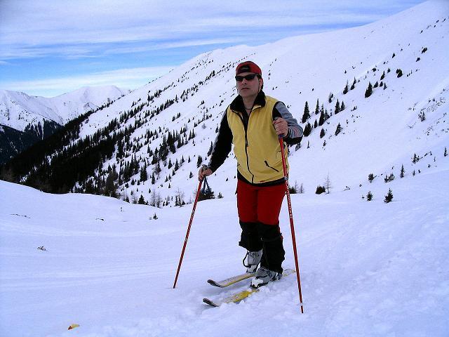 Foto: Andreas Koller / Ski Tour / Zwei Gipfel aus dem Gullinggraben (2196 m) / Im Kar / 21.01.2008 15:49:58