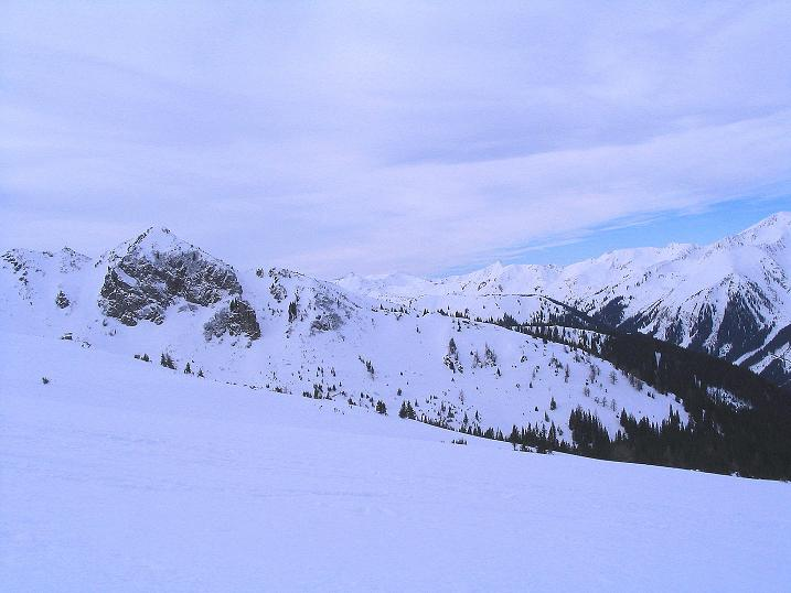 Foto: Andreas Koller / Ski Tour / Zwei Gipfel aus dem Gullinggraben (2196 m) / 24.12.2008 12:56:50