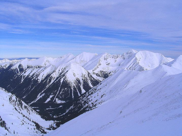 Foto: Andreas Koller / Ski Tour / Zwei Gipfel aus dem Gullinggraben (2196 m) / Im O grüßt der Bösenstein (2449 m) / 21.01.2008 15:47:35