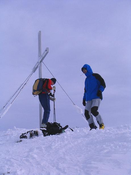 Foto: Andreas Koller / Ski Tour / Zwei Gipfel aus dem Gullinggraben (2196 m) / 24.12.2008 12:56:26