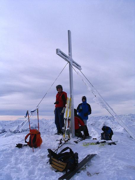 Foto: Andreas Koller / Ski Tour / Zwei Gipfel aus dem Gullinggraben (2196 m) / 24.12.2008 12:56:18