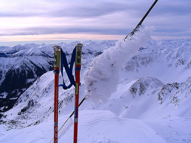 Foto: Andreas Koller / Ski Tour / Zwei Gipfel aus dem Gullinggraben (2196 m) / 24.12.2008 12:56:13