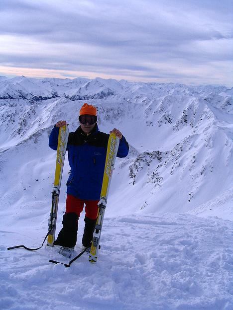 Foto: Andreas Koller / Ski Tour / Zwei Gipfel aus dem Gullinggraben (2196 m) / 24.12.2008 12:57:29
