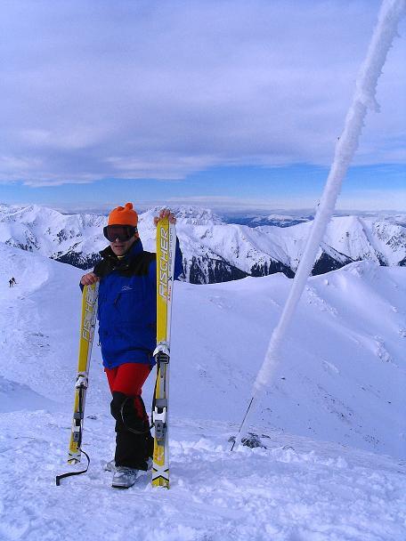 Foto: Andreas Koller / Ski Tour / Zwei Gipfel aus dem Gullinggraben (2196 m) / Am Hochschwunggipfel gegen Grimming (2351 m) / 21.01.2008 15:43:50