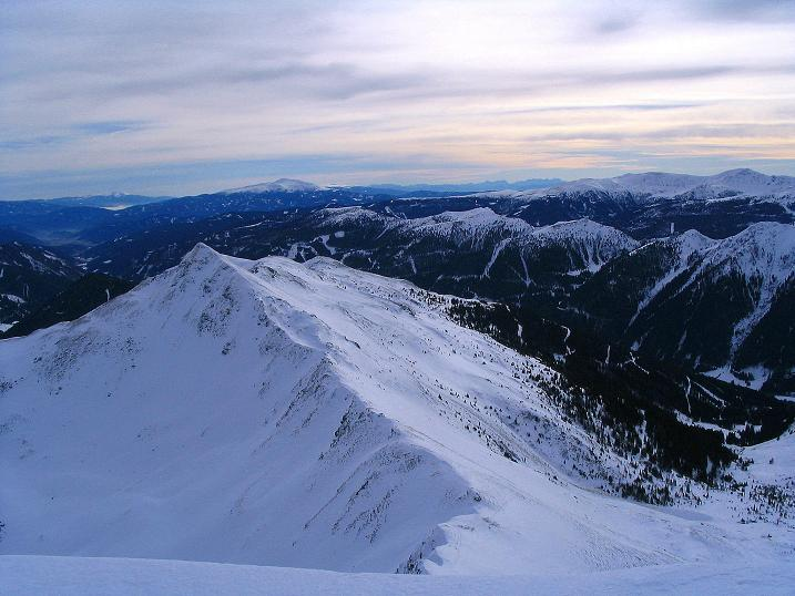 Foto: Andreas Koller / Ski Tour / Zwei Gipfel aus dem Gullinggraben (2196 m) / 24.12.2008 12:55:54