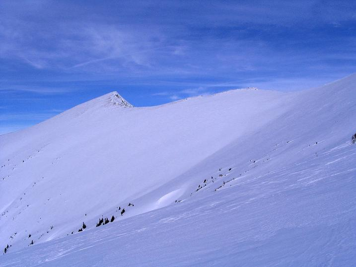 Foto: Andreas Koller / Ski Tour / Zwei Gipfel aus dem Gullinggraben (2196 m) / Sommereck mit Verbindungsgrat / 21.01.2008 15:42:20