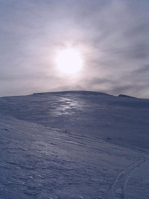 Foto: Andreas Koller / Ski Tour / Zwei Gipfel aus dem Gullinggraben (2196 m) / Die Hänge oberhalb des Kars / 21.01.2008 15:42:00
