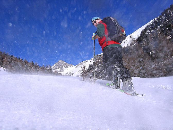 Foto: Andreas Koller / Skitour / Schliererspitze  (2402m) / Anstieg zur Muhrer Alm / 29.01.2008 01:48:06