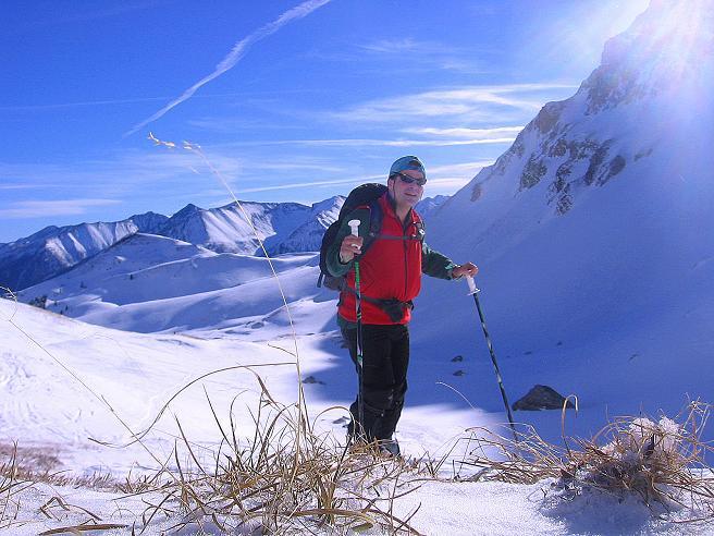 Foto: Andreas Koller / Skitour / Schliererspitze  (2402m) / Anstieg im Urbankar / 29.01.2008 01:42:05