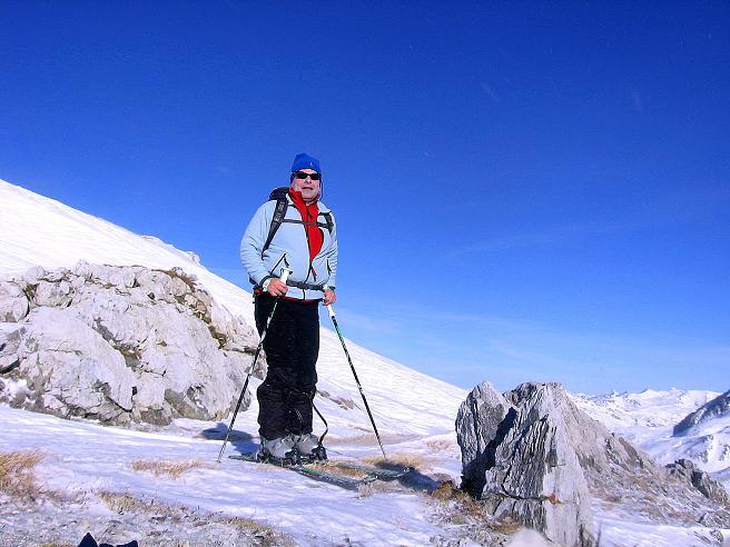 Foto: Andreas Koller / Skitour / Schliererspitze  (2402m) / Über dem Frauenkar / 29.01.2008 01:39:10