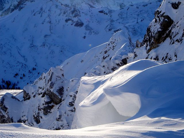 Foto: Manfred Karl / Ski Tour / Kleiner Pleißlingkeil aus dem Flachautal / Gipfelwechte / 31.01.2008 17:45:11