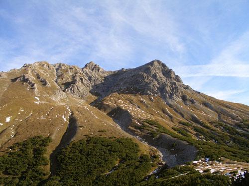 Foto: vince 51 / Wander Tour / Vom Lünersee auf den Saulakopf / Saulakopf mit Südflanke (rechts) und Südwestgrat / 31.01.2008 22:36:54