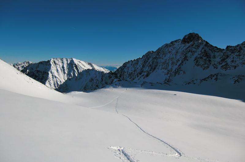 Foto: Thomas Paschinger / Ski Tour / Von Haggen auf die Weitkarspitze / 12.02.2010 16:06:34