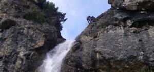 Foto: . Imst Tourismus / Klettersteig Tour / Wasserfallsteig / 07.02.2008 10:31:18