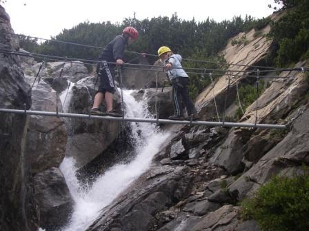 Foto: . Imst Tourismus / Klettersteig Tour / Wasserfallsteig / 07.02.2008 10:28:49