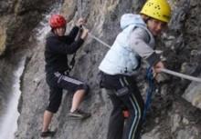 Foto: . Imst Tourismus / Klettersteig Tour / Wasserfallsteig / 07.02.2008 10:31:38