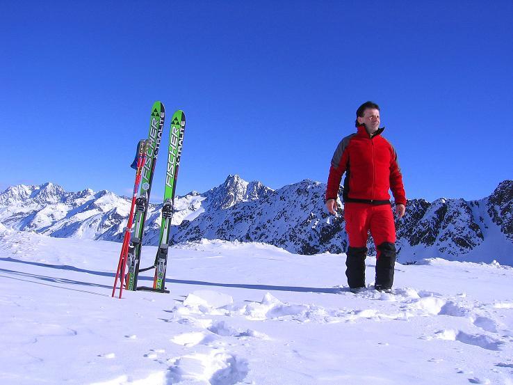 Foto: Andreas Koller / Ski Tour / Kurze Tour auf die Nasse Wand (3046m) / Ausganspunkt Weißseeferner / 16.02.2008 14:13:35