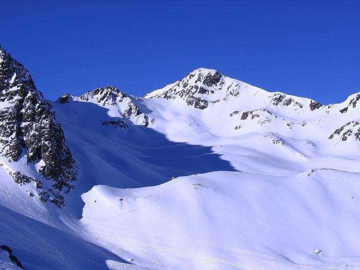 Foto: Andreas Koller / Ski Tour / Kurze Tour auf die Nasse Wand (3046m) / Die Nasse Wand / 16.02.2008 14:13:12