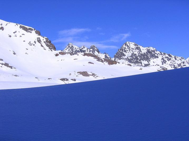 Foto: Andreas Koller / Ski Tour / Kurze Tour auf die Nasse Wand (3046m) / Blick nach N / 16.02.2008 14:11:30