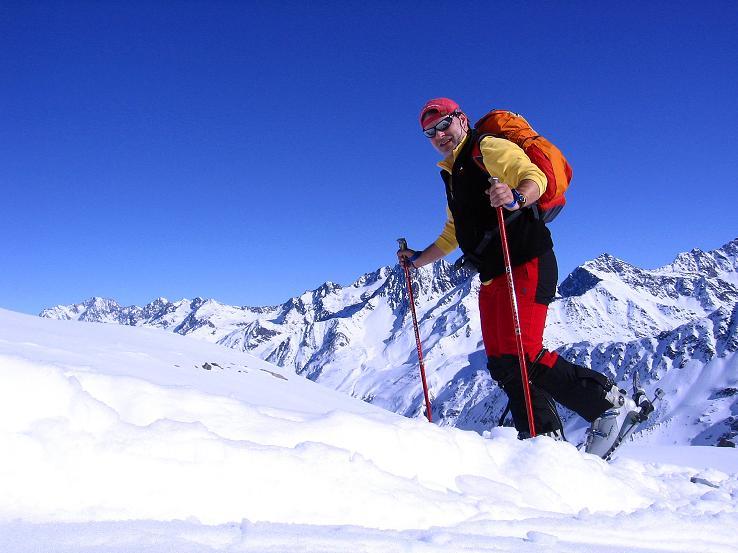 Foto: Andreas Koller / Ski Tour / Kurze Tour auf die Nasse Wand (3046m) / Im Anstieg aufs Weißseejoch / 16.02.2008 14:09:22