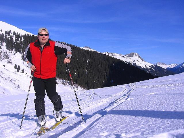 Foto: Andreas Koller / Ski Tour / Pulverschnee am Valzifenzer Grat (2515 m) / Im Valzifenzer Tal / 17.02.2008 01:06:28