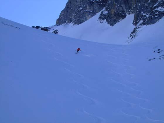 Foto: Bernhard Berger / Ski Tour / Von Innervals auf das Sumpfschartl / Ideales Schigelände I / 17.02.2008 20:37:03