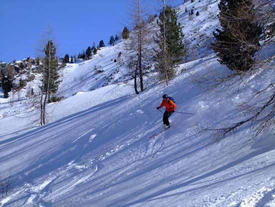 Foto: Bernhard Berger / Ski Tour / Von Innervals auf das Sumpfschartl / Ideales Schigelände II / 17.02.2008 20:37:53