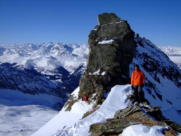 Foto: Bernhard Berger / Ski Tour / Von Innervals auf das Sumpfschartl / Sumpfschartl (2666m) / 17.02.2008 20:35:06