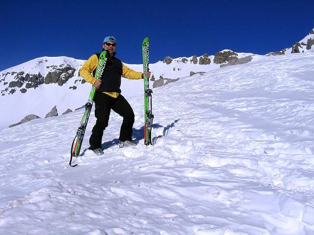 Foto: Andreas Koller / Ski Tour / Piz Vallatscha - unbekannte Tour im Engadin (3021 m) / Im Valbella / 18.02.2008 01:46:18