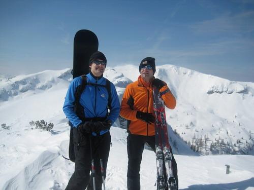 Foto: Atzi / Ski Tour / Schwalbenmauer über das Brunnental / 23.03.2009 13:14:09
